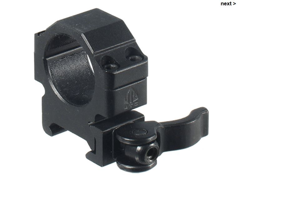Tactical Precision Scope Rings